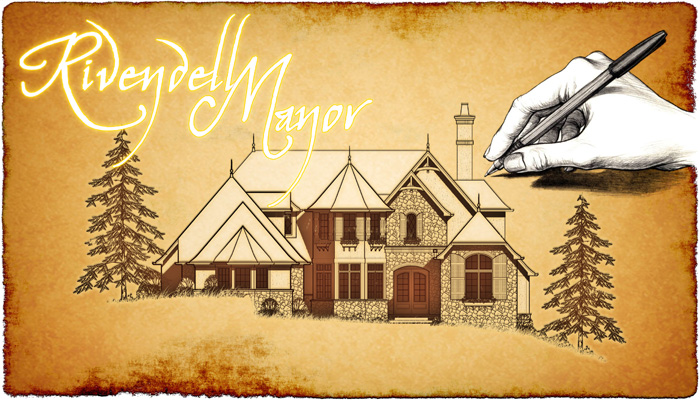 Floor plans of storybook homes house plans home designs for Rivendell cottage house plans