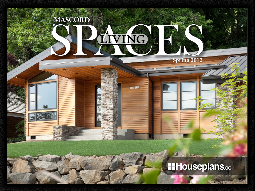 Spring 2012 mascord living spaces app brings life to home for Mascord plans
