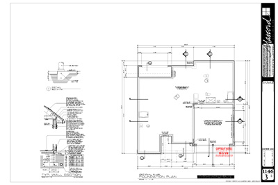 Sample house foundation plans house design plans for Foundation blueprints