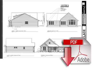 Full set of house plans home design and style for Complete set of architectural drawings pdf