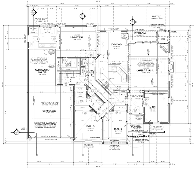 Construction House Plans Over 5000 House Plans Plumbing Blueprints