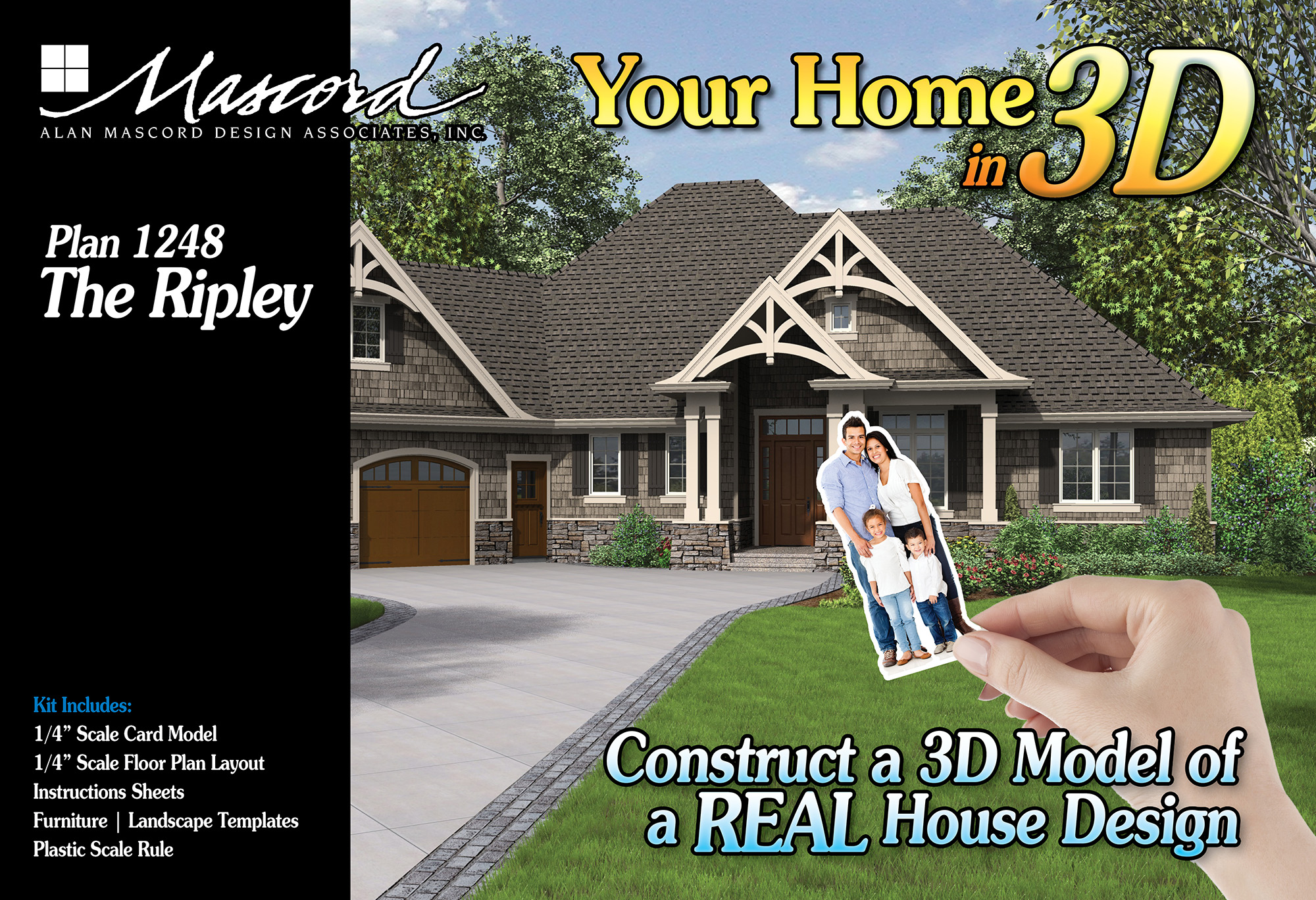 Your Home in 3D - Plan 1248