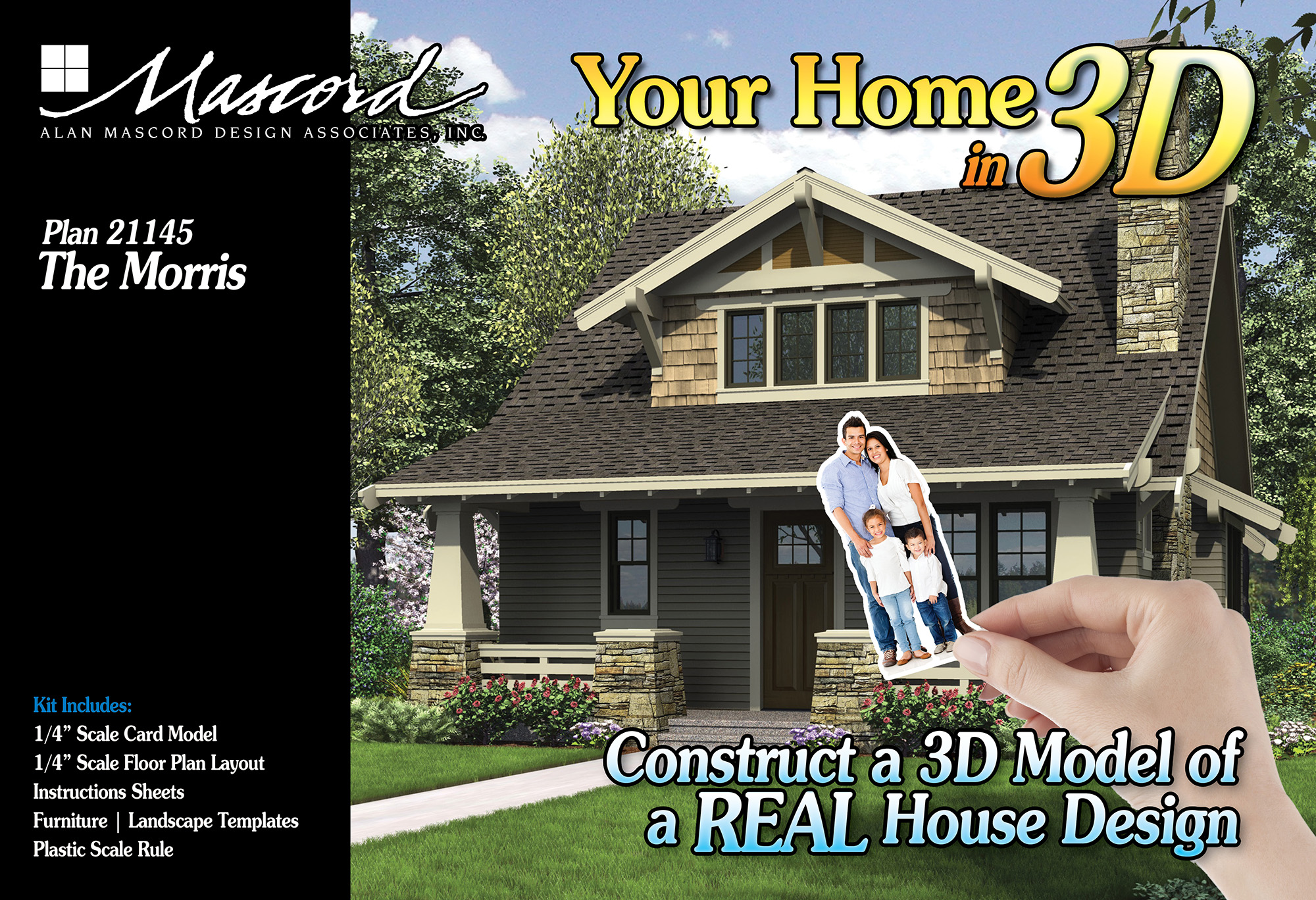 Your Home in 3D - Plan 21145